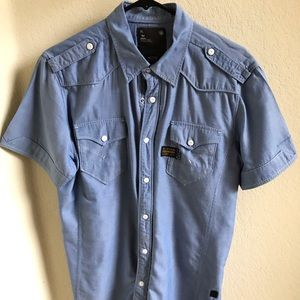G Star button down casual shirt